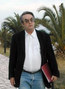 Peter Cochran in Messolonghi, Greece